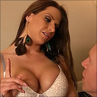 Big tit housewife Rachel Roxxx gets fucked for cash