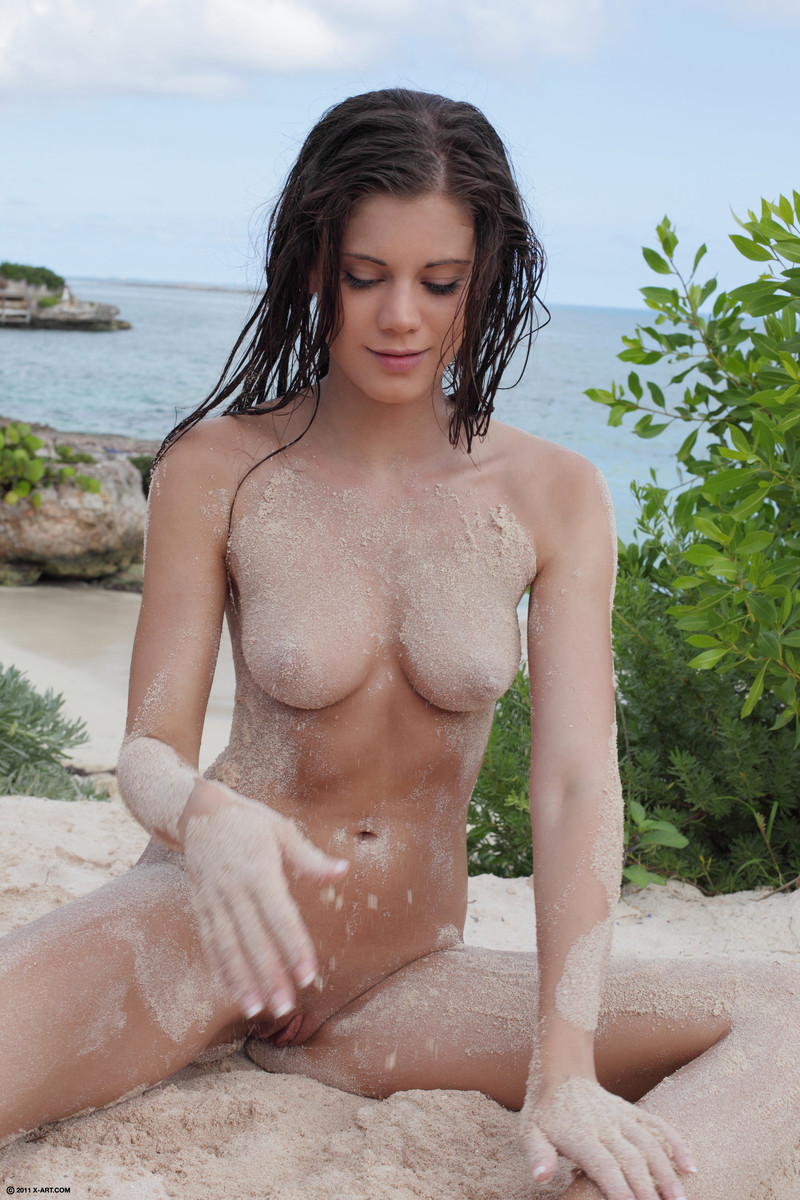 Idea Caprice nude beach apologise, but